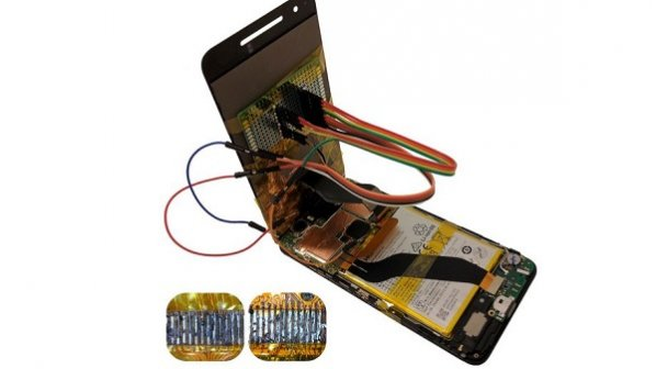 امکان هک شدن گوشی بعد از تعویض صفحه نمایش خراب