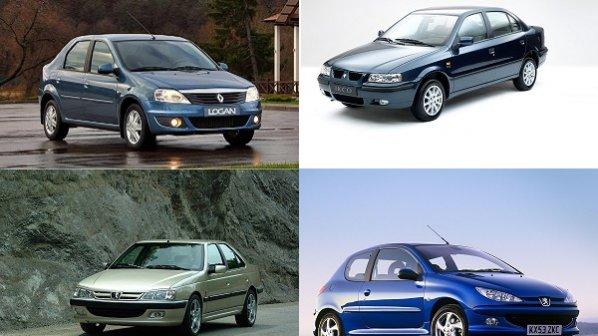 قیمت خودروهای مدل 97 در بازار امروز