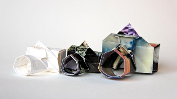 ساخت دوربین کروی با الهام از اوریگامی