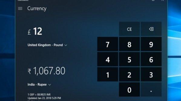 چگونه میتوانیم از ابزار پنهان تبدیل ارز در ویندوز 10 استفاده کنیم؟