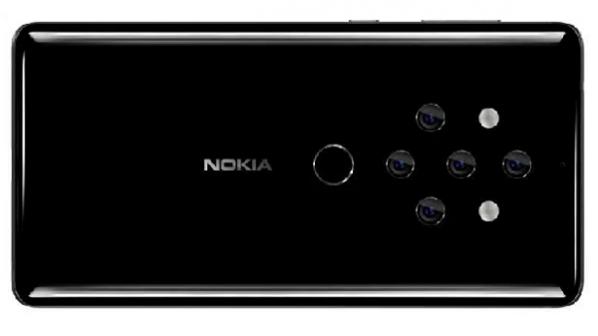 تصویر جدیدی از نوکیا 10 با پنج دوربین اصلی افشا شد