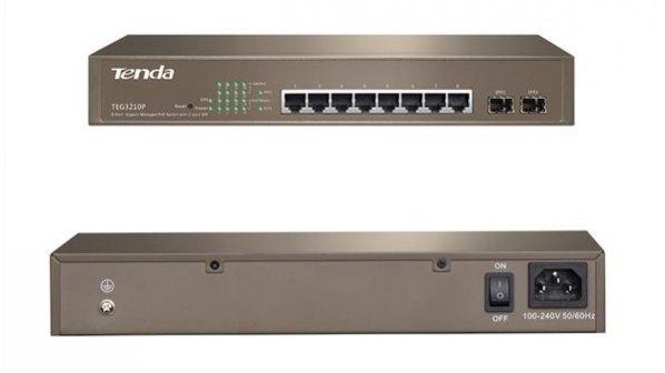 نگاهی به سوئیچ مدیریتی 10 گیگابیتی Tenda TEG3210P