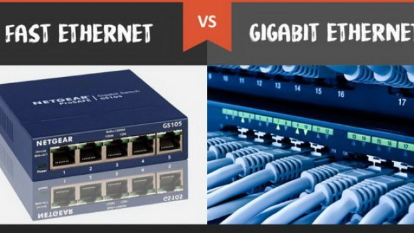 تفاوت بین Fast Ethernet و Gigabit Ethernet در چیست؟