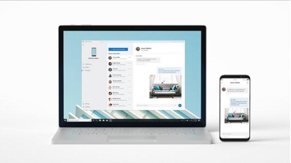 مایکروسافت از برنامه Your Phone برای تعامل گوشی و کامپیوتر شخصی رونمایی کرد