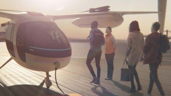 اوبر از نمونه اولیه تاکسی پرنده خود رونمایی کرد