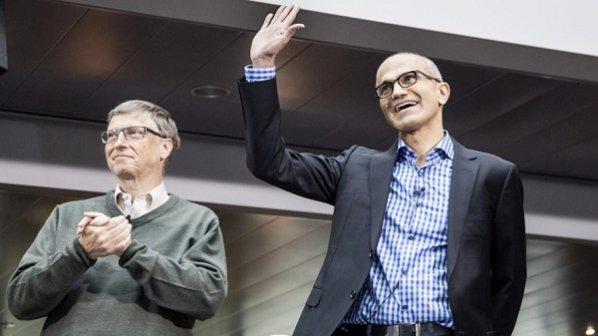 گفت وگوی خودمانی با مدیران فعلی و سابق مایکروسافت، ساتیا نادلا و بیل گیتس