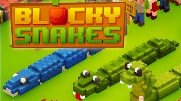 دانلود بازی جذاب Blocky Snakes مخصوص اندروید و iOS