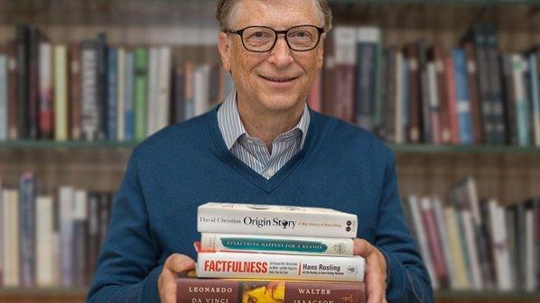 بیل گیتس این 5 کتاب را برای تابستان امسال بهشما پیشنهاد میکند