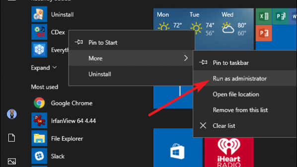 با این سه روش هر برنامه ویندوزی را در حالت Administrator اجرا کنید