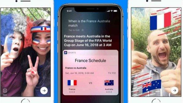 نتایج مسابقات جام جهانی فوتبال را از سیری اپل بپرسید