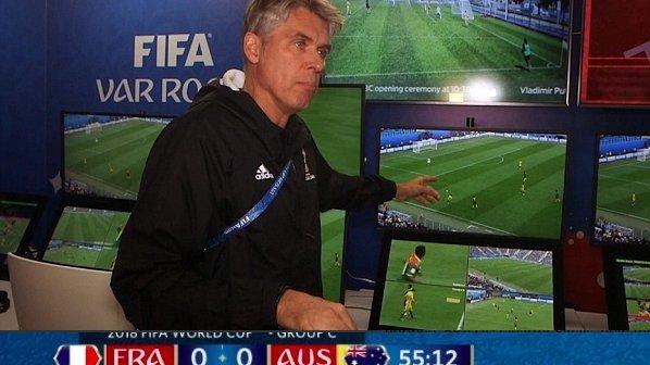 کمک داور ویدیویی اولین اثرگذاری مهم خود در جام جهانی 2018 را ثبت کرد