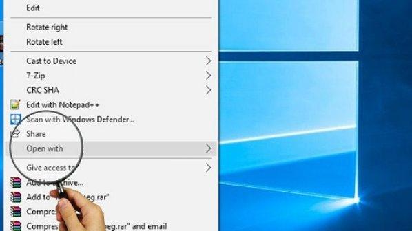 چگونه مشکل Open With که در ویندوز 10 کار نمیکند را برطرف کنیم