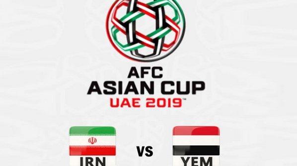 پخش زنده و آنلاین بازی ایران در جام ملتهای آسیا 2019
