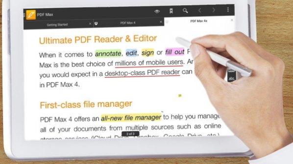 ۵ اپلیکیشن کاربردی برای خواندن و ویرایش اسناد PDF در اندروید