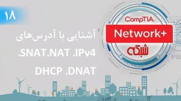 آموزش رایگان دوره نتورکپلاس (+Network) آشنایی با آدرسهای IPv4، NAT،SNAT، DNAT (بخش 18)