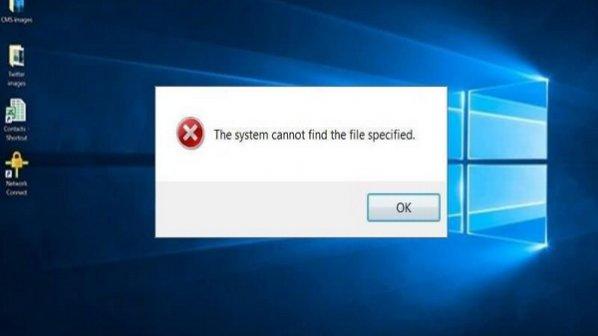 چگونه پیغام خطای The System Cannot Find the File Specified را برطرف کنیم