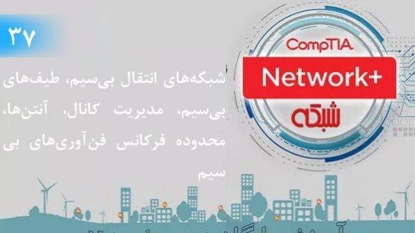 آموزش رایگان دوره نتورکپلاس (+Network) شبکههای انتقال بیسیم، طیفهای بیسیم، آنتنها (بخش 37 )