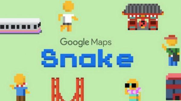 چگونه روی کامپیوتر شخصی و گوشی موبایل Google Maps Snake بازی کنیم