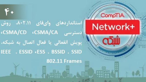 آموزش رایگان دوره نتورکپلاس (+Network) استانداردهای وایفای 802.11، روش دسترسی CSMA/CA (بخش 40 )