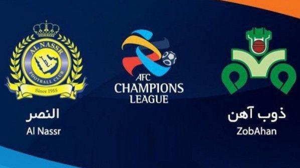 پخش زنده و آنلاین بازی ذوب آهن و النصر عربستان در لیگ قهرمانان آسیا 2019