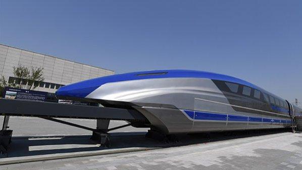 قطار شناور مغناطیسی، با سرعت 600 کیلومتر در ساعت