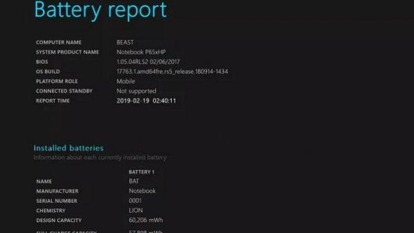گزارش باتری در ویندوز 10 چیست و چگونه از آن استفاده کنیم؟