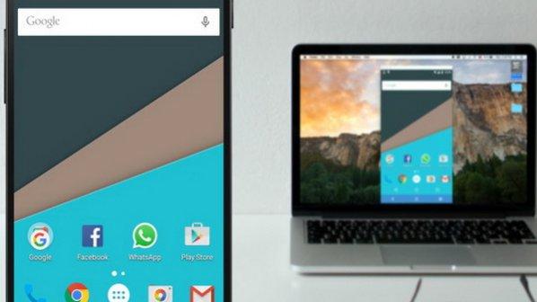 چگونه یک تصویر آینهای از گوشی روی صفحهنمایش کامپیوتر ارسال کنیم