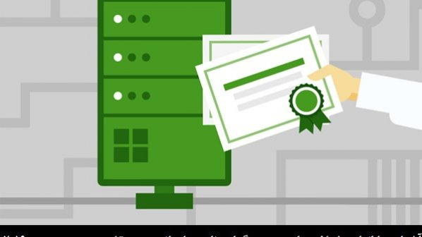 آشنایی با انواع مختلف مراجع صدور گواهینامه سازمانی و مستقل در ویندوز سرور 2019