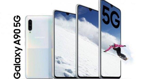 سامسونگ گلکسی A90 5G میانرده با بالاترین مشخصات وارد بازار شد
