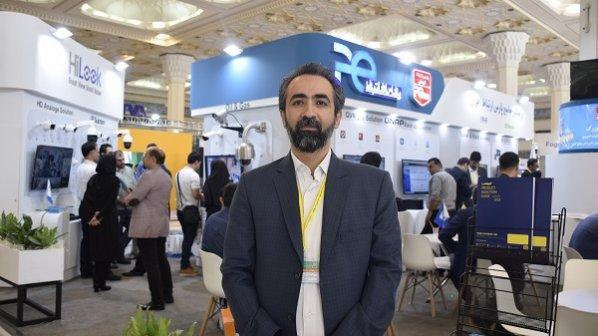گفت و گو با مدیر فروش سازمانی شرکت پارس ارتباط در نمایشگاه ایپاس 2019