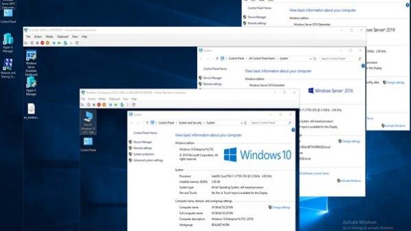 Remote Access Server در ویندوز سرور 2019 از چه بخشهایی ساخته شده است؟