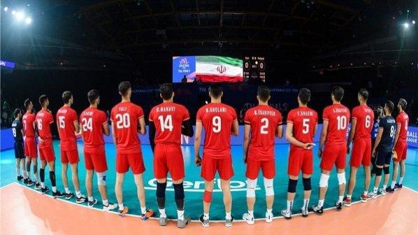 پخش زنده و آنلاین بازی والیبال ایران و کره جنوبی