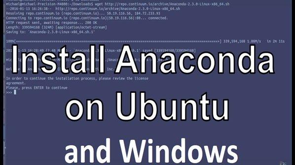 چگونه آناکوندا را روی سیستمعامل ویندوز و لینوکس نصب کنیم؟