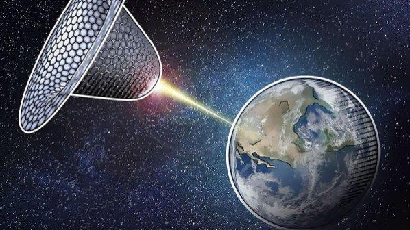 نیروگاههای خورشیدی به فضا میروند