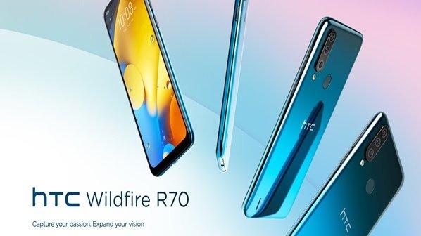 گوشی هوشمند مقرون به صرفه Wildfire R70 از HTC مجهز به دوربین سهگانه