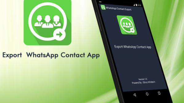 چگونه از مخاطبان واتساپ خروجی بگیرید