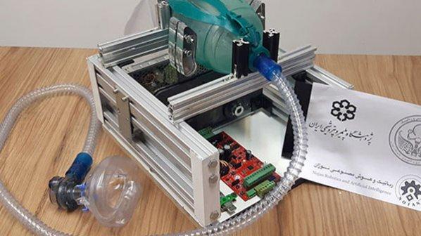 مهندسان ایرانی برای مقابله با کرونا دستگاه تنفس مصنوعی اپنسورس ساختند