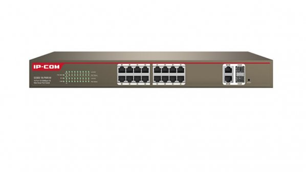 معرفی سوئیچ نیمه مدیریتی (Web Smart) آی پی کام مدل S3300-18-PWR-M