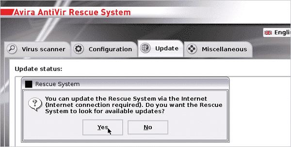 روش دوم- استفاده از دیسک نجات آویرا برای ازبین بردن ویروسهای کامپیوتر