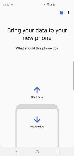 از اپ Smart Switch استفاده کنید