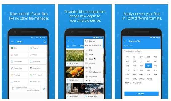 تطبيق Trash File Commander لنظام Android