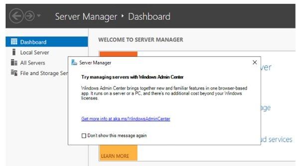 آشنایی مقدماتی با Windows Admin Center در ویندوز سرور 2019