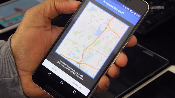 استفاده از گوگل مپ به صورت آفلاین و ساخت موقعیت مکانی جعلی