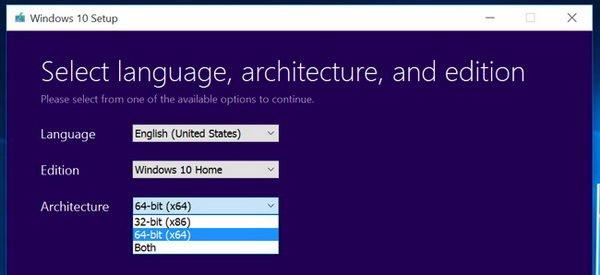 سوییچ از ویندوز 10 نسخه 32 به نسخه 64 بیتی | شبکه
