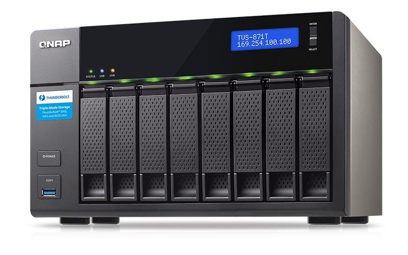 ذخیرهساز مجهز به درگاه تاندربولت 2 برای مصارف 4K
