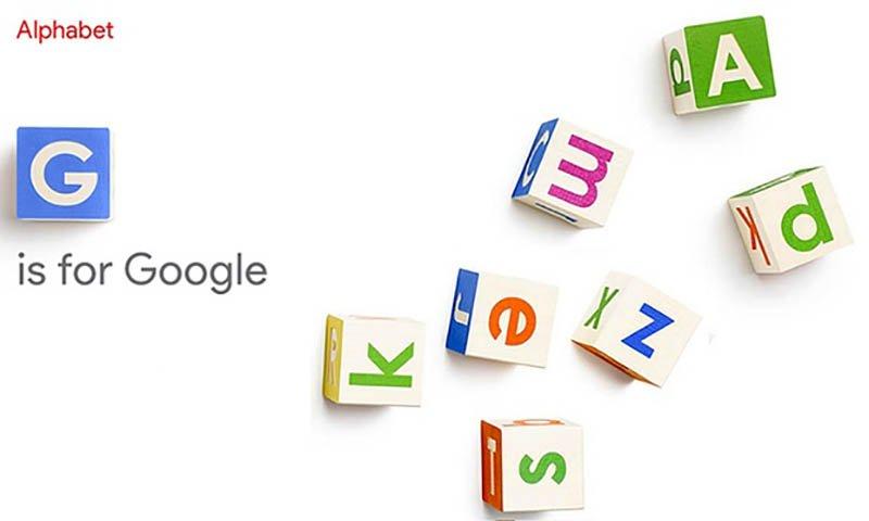گوگل یک شرکت مادر به نام آلفابت تأسیس کرد