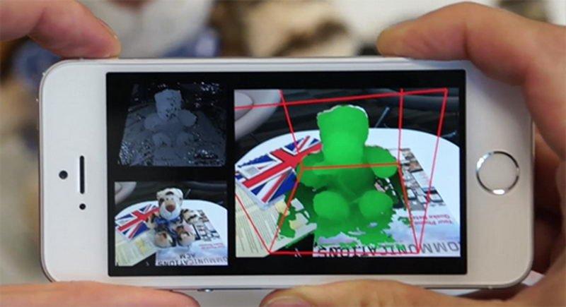 تبدیل دوربين تلفن به اسکنر سه بعدی توسط فناوری جدید مایکروسافت
