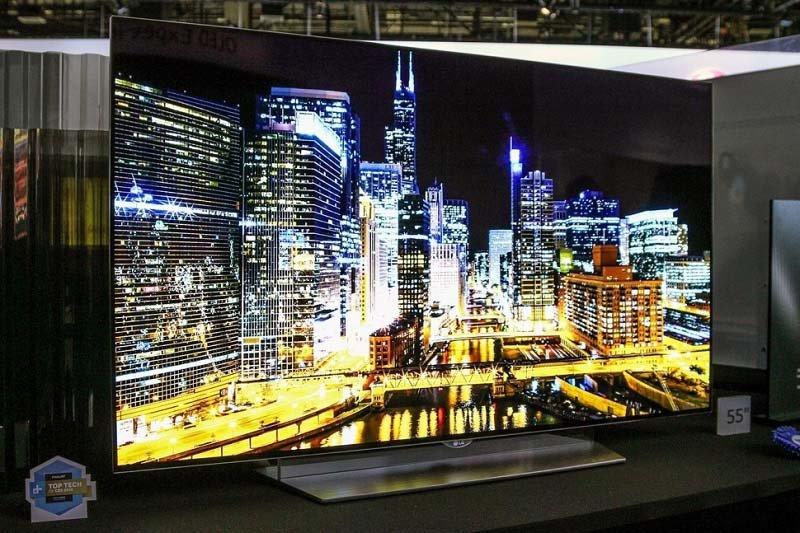 الجی اولین تلویزیون OLED کاملا فلت دنیا را ساخت