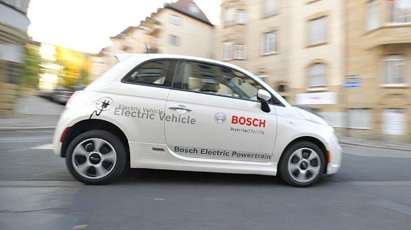 شرکت بوش نگرانی خودروهای الکتریکی را رفع کرد