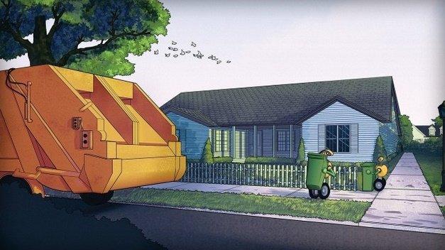 از این به بعد رباتها زبالهها را جمع میکنند